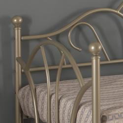 Pewter Metallic Metal Twin-size Daybed