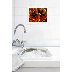 Georgia O'Keeffe 'Oriental Poppies' Wall Tile