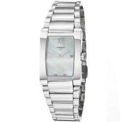 Tissot Women's 'GenerosiT' Mother of Pearl Dial Stainless Steel Watch