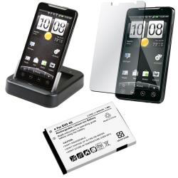 Cradle/ Screen Protector/ Battery for HTC EVO 4G