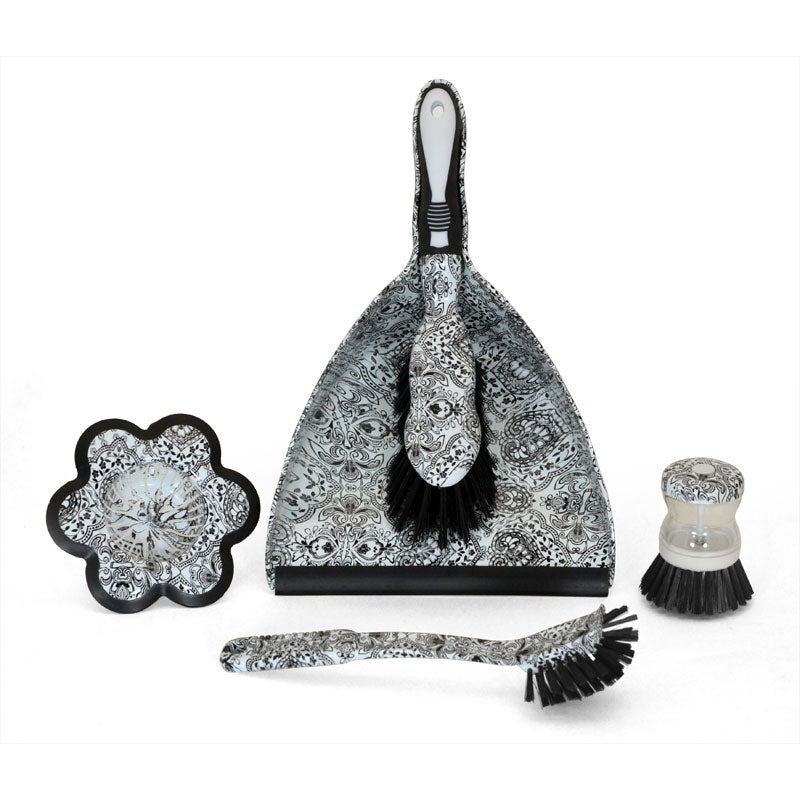 4-piece Tango Damask Household Cleaning Set