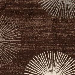 Woven Brown Sauvignon Rug (5'3 x 7'6)