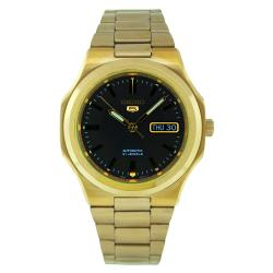 Seiko Men's 5 Automatic SNKK54K Gold Stainless-Steel Automatic Watch