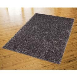 Fox Fire Graphite Grey Shag Rug (8' x 10')