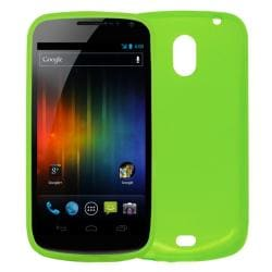 Premium Samsung Galaxy Nexus Green TPU Case