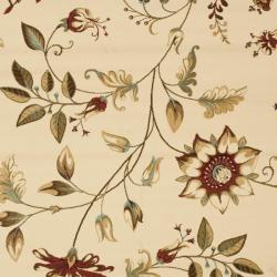 Safavieh Lyndhurst Zen Gardens Ivory Rug (9' x 12')
