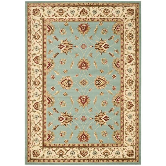 Safavieh Lyndhurst Traditions Blue/ Ivory Rug (9' x 12')