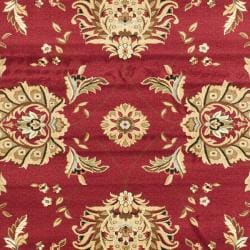 Lyndhurst Traditions Red/ Ivory Rug (9' x 12')