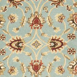 Lyndhurst Traditions Blue/ Ivory Rug (2'3 x 8')