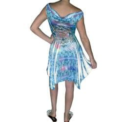 Tabeez Women's Subliminal Tribal Print Dress