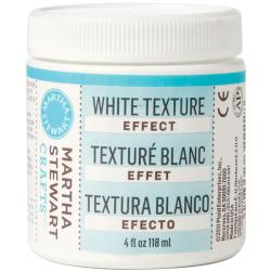 Martha Stewart 4-Ounce White Texture Effect Paint
