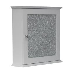 Fifth Avenue Silver Mosaic Medicine Cabinet