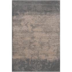 Meticulously Woven Gray Contemporary Cronus Abstract Ombre Rug (6'7 x 9'4)