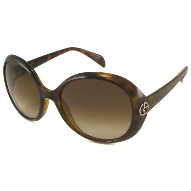 Giorgio Armani GA694 Women's Round Sunglasses