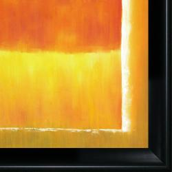Mark Rothko 'Untitled (Violet, Black, Orange, Yellow on White and Red), 1949' Large Hand-painted Framed Canvas Art