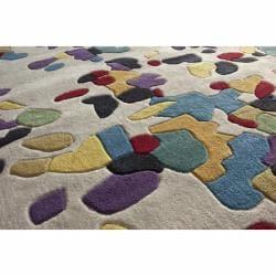 nuLOOM Handmade Pino Multi Celebrations Confetti Burst Rug (6' x 9')