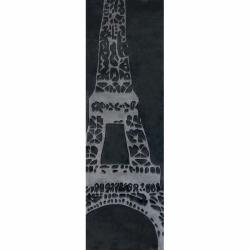 nuLOOM Handmade Deco Kids Eiffel Tower Runner (2'6 x 8')