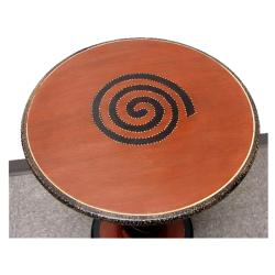 Tall Unity Globe Spiral Table (Ghana)
