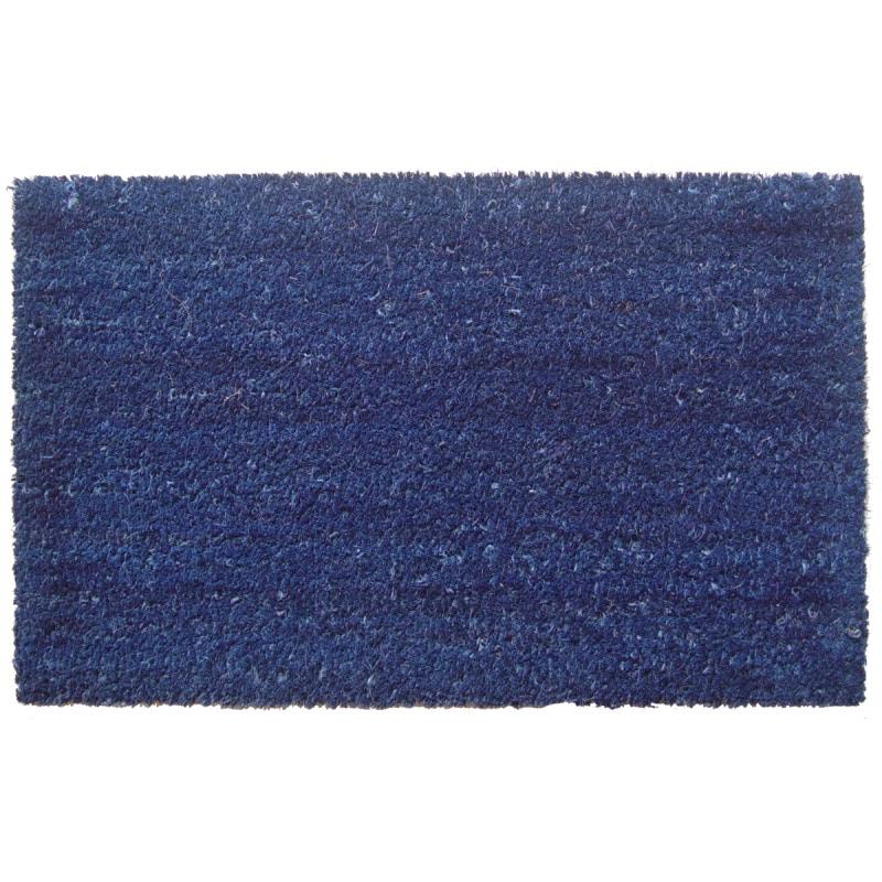 Simply Blue Non-slip Coir Doormat