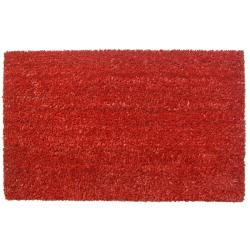 Simply Red Non-slip Coir Doormat