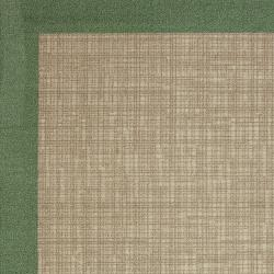 Indoor/ Outdoor Crosshatch Lime Green Rug (5' x 8')