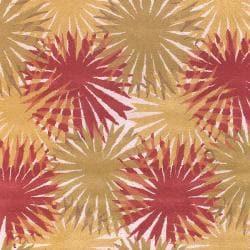 Hand-tufted Brown Aberjona Wool Rug (3'3 x 5'3)