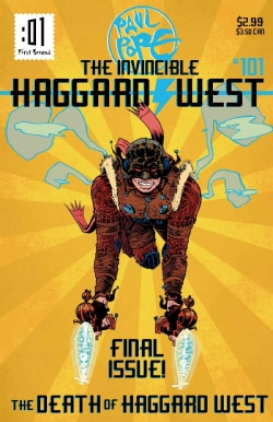 The Death of Haggard West (Paperback)