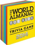 The World Almanac for Kids 2014 Trivia Game (Paperback)