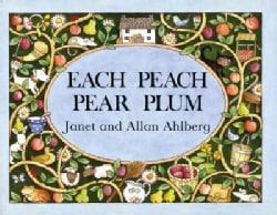 Each Peach Pear Plum (Board book)