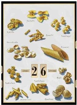 Pasta Amore Perpetual Calendar (Calendar)