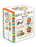 The Eric Carle Gift Set: The Tiny Seed; Pancakes, Pancakes!; A House for Hermit Crab; Rooster's Off to See the W... (Board book)