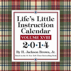 Life's Little Instruction 2014 Calendar (Calendar)