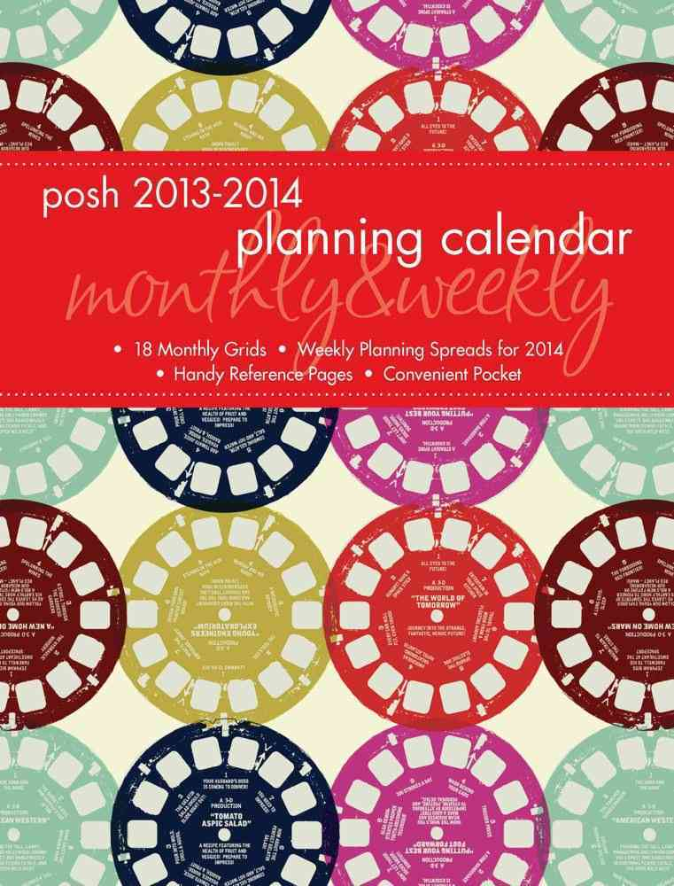 Retro Reels Monthly/Weekly 2013-2014 Planning Calendar (Calendar)