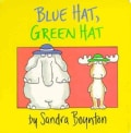 Blue Hat, Green Hat (Board book)