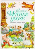 A Treasury of Mother Goose Rhymes (Hardcover)