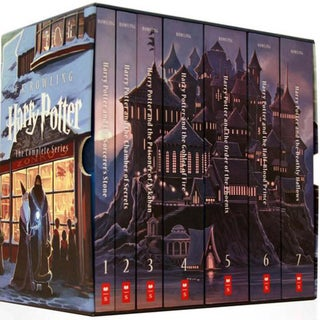 Harry Potter the Complete Series (Paperback) 10769981