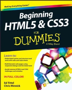 Beginning HTML5 & CSS3 for Dummies (Paperback)