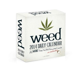 Weed 2014 Daily Calendar: 365 More Things You Didn't Know, or Remember About Cannabis (Calendar)