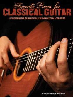 Favorite Pieces for Classical Guitar (Paperback)