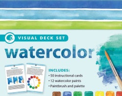 Watercolor Visual Deck Set (Hardcover)