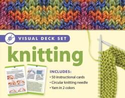 Knitting Visual Deck Set (Cards)