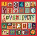 Adventivity: A Countdown to Christmas With 25 Holiday Activities (Paperback)