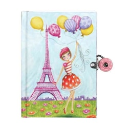J 'adore Paris! Locked Diary (Diary)