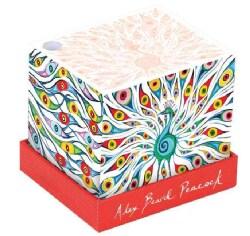 Alex Beard Peacock Memo Block (Paperback)