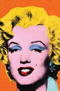 Andy Warhol Marilyn 300 Piece Jigsaw Puzzle (Novelty book)