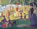 Seurat a Sunday on La Grande Jatte - 1884 Keepsake Box (Cards)