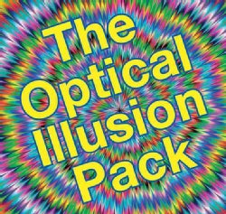 The Optical Illusion Pack (Spiral bound)