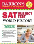 Barron's SAT Subject Test World History (Paperback)