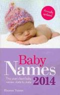 Baby Names 2014 (Paperback)