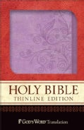 Holy Bible: God's Word Lilac / Springtime Design Duravella Thinline (Paperback)
